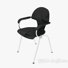 四脚办公椅3d模型下载