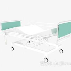 医院病床3d模型下载