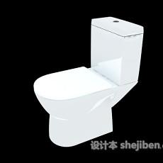蓄水坐便器3d模型下载