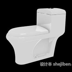 家庭马桶3d模型下载