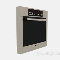 家用电器微波炉3d模型下载