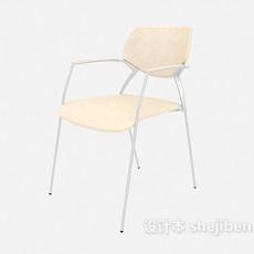 高脚培训椅3d模型下载