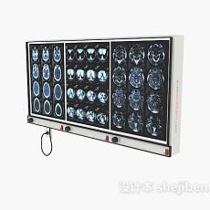 脑部诊断图3d模型下载