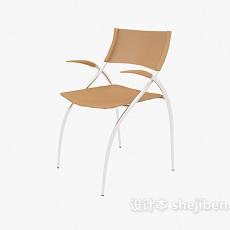 扶手休闲椅子3d模型下载