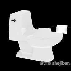 浴室间马桶3d模型下载