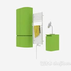 卫浴挂件及浴室柜3d模型下载