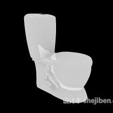 陶瓷家用马桶3d模型下载