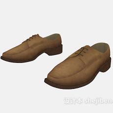 男士休闲鞋子3d模型下载