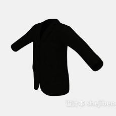 黑色西装3d模型下载