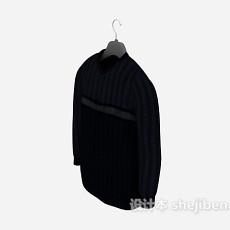 男士羊毛衫3d模型下载