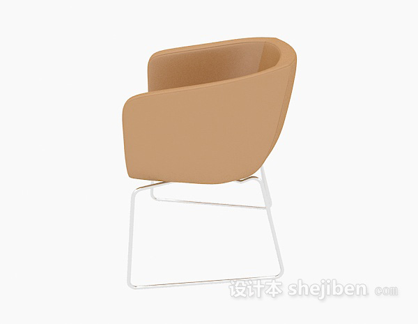 黄色休闲椅子