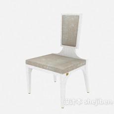 简易 木椅3d模型下载