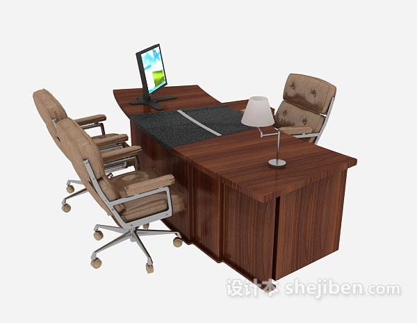 简约现代办公桌