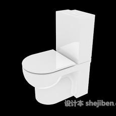 浴室马桶3d模型下载
