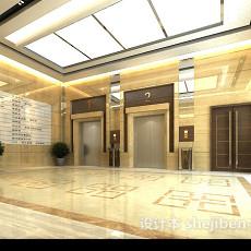 大厅电梯口3d模型下载