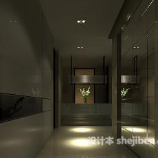 酒店宾馆走廊3d模型下载