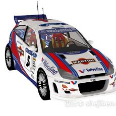 福特福克斯 ford focus wrc 赛车3d模型下载