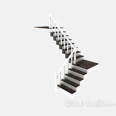 直角楼梯3d模型下载