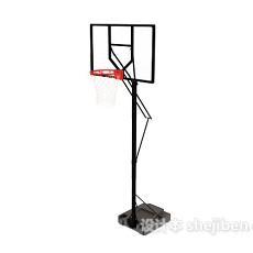 篮球框3d模型下载