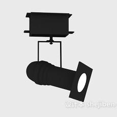 轨道射灯3d模型下载