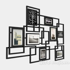 照片墙3d模型下载