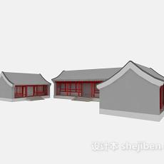 古建四合院3d模型下载