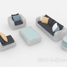 户外家具 3d模型下载