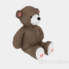 儿童玩具小熊 3d模型下载