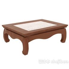 榻榻米矮桌3d模型下载