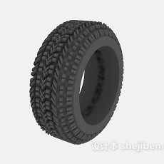 汽车轮胎3d模型下载