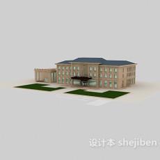 建筑3d模型下载