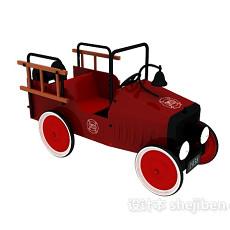 儿童玩具老爷车3d模型下载