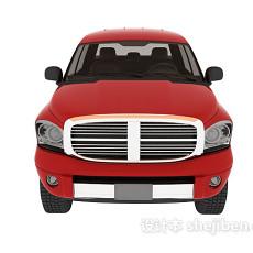 皮卡车3d模型下载