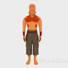 男人人体3d模型下载