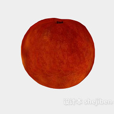 桃子水果食品3d模型下载