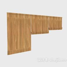 竹帘组合max窗帘3d模型下载