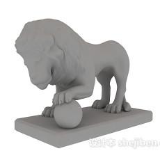 户外雕塑3d模型下载
