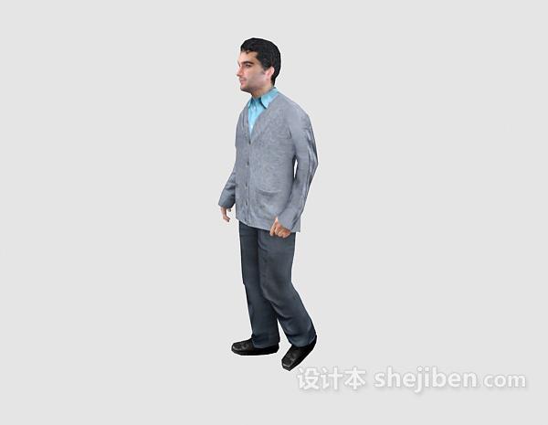 男人的3d人物模型下载