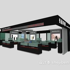 手机专卖店展厅3d模型下载