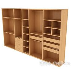 服装店衣柜3d模型下载
