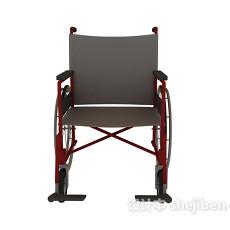 手推轮椅3d模型下载