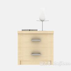 床头柜三维3d模型下载
