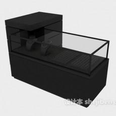 珠宝柜3d模型下载