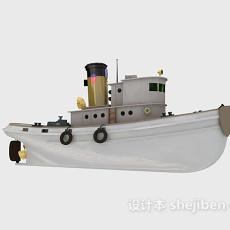 古船3d模型下载