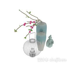 s陶瓷饰品3d模型下载