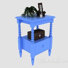 地中海风格床头柜3d模型下载