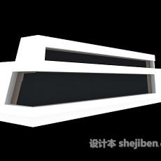 收银柜台3d模型下载
