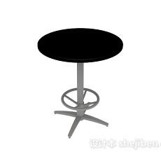 吧桌3d模型下载