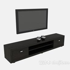 电视柜963d模型下载