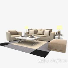 现代简约家具3d模型下载
